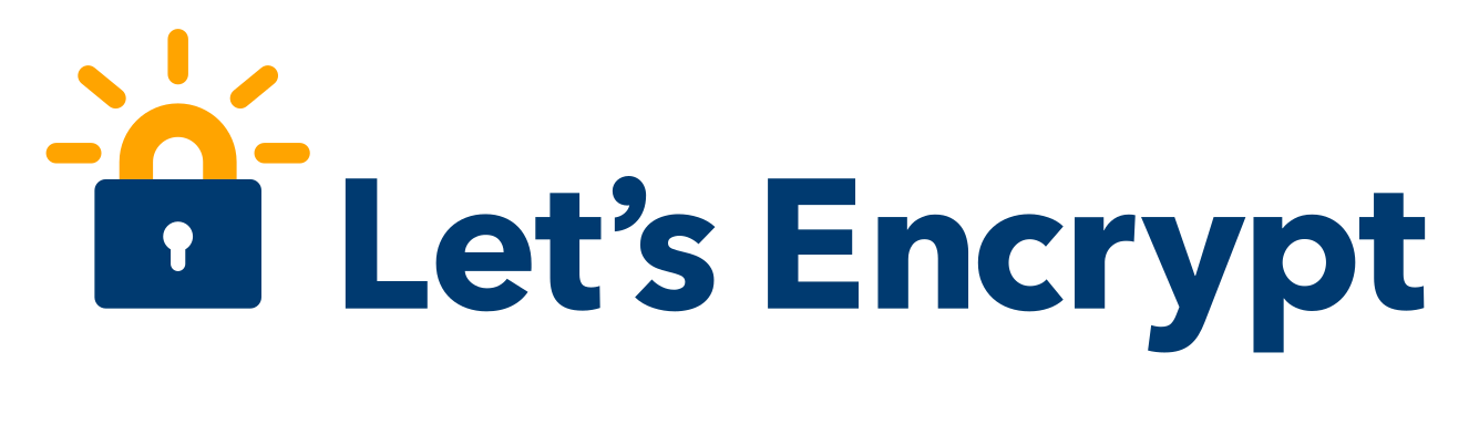 Let's Encrypt secured website logo